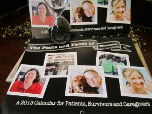 faces of melanoma calendar