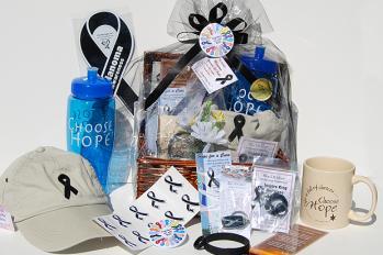 melanoma awareness gift basket