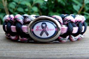 melanoma survivor paracord bracelet